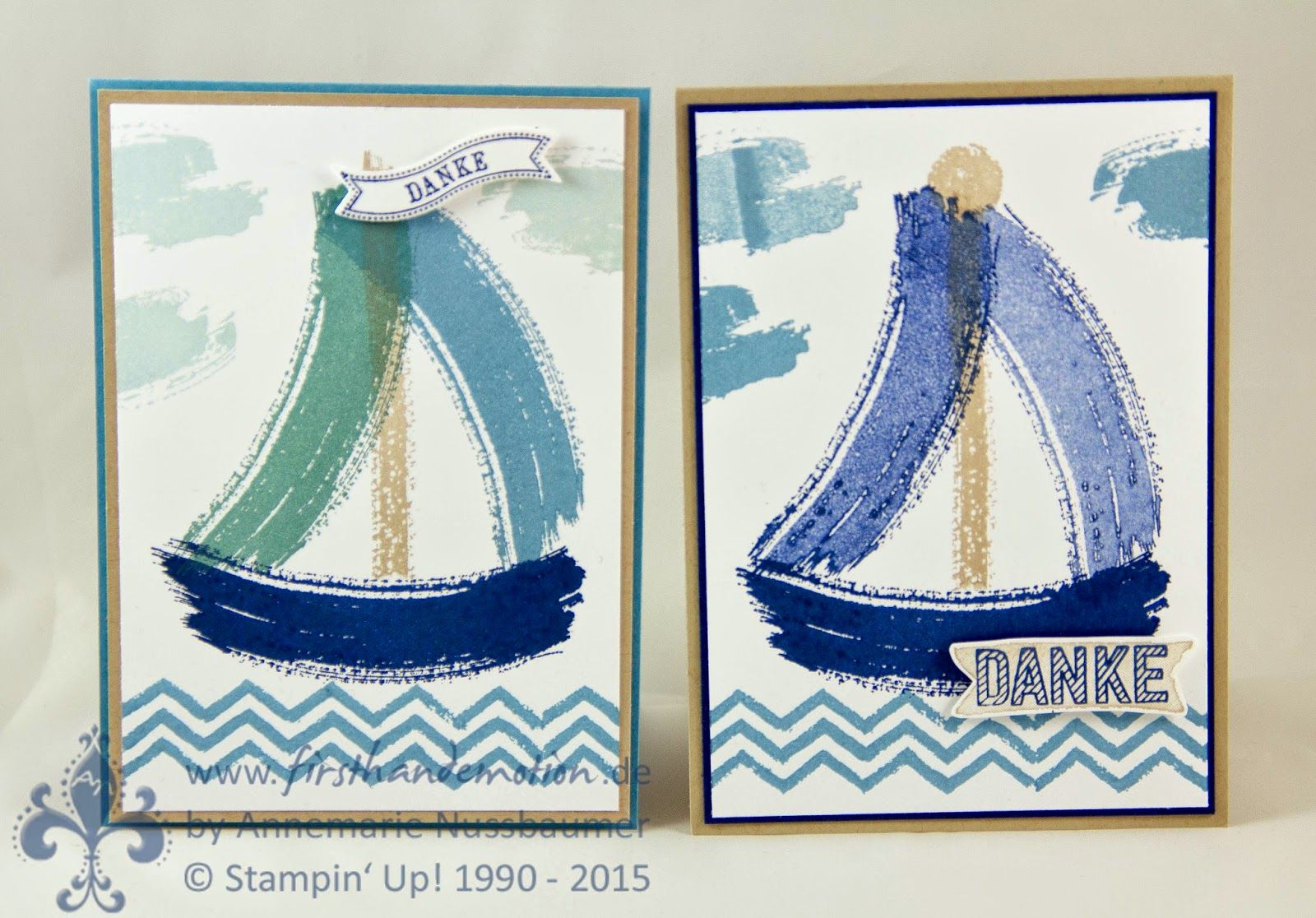 Stampin' Up! by First Hand Emotion: Work of Art zur Konfirmation