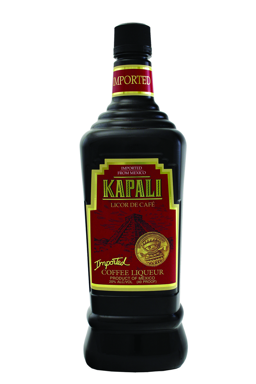 A liqueur from Mexico with a vanilla, coffee flavor. It's