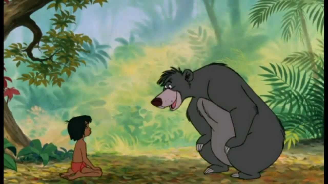 Das Dschungelbuch Balu Probier S Mal Mit Gemutlichkeit Hq Disney Dschungelbuch Dschungelbuch Zeichentrickfilme