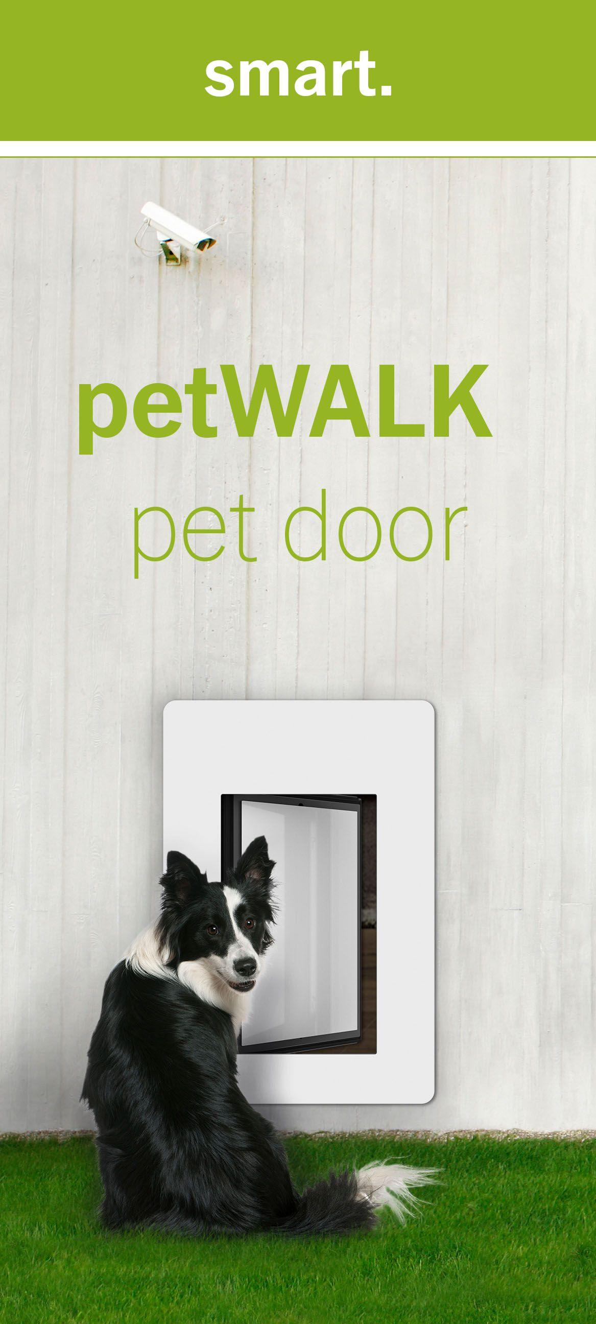 The New Generation Of Pet Doors Pets Pet Doors Smart Dog Door