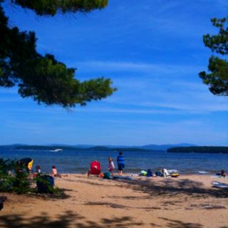 Summer day - Elacoya State Park NH - photo by MMaple