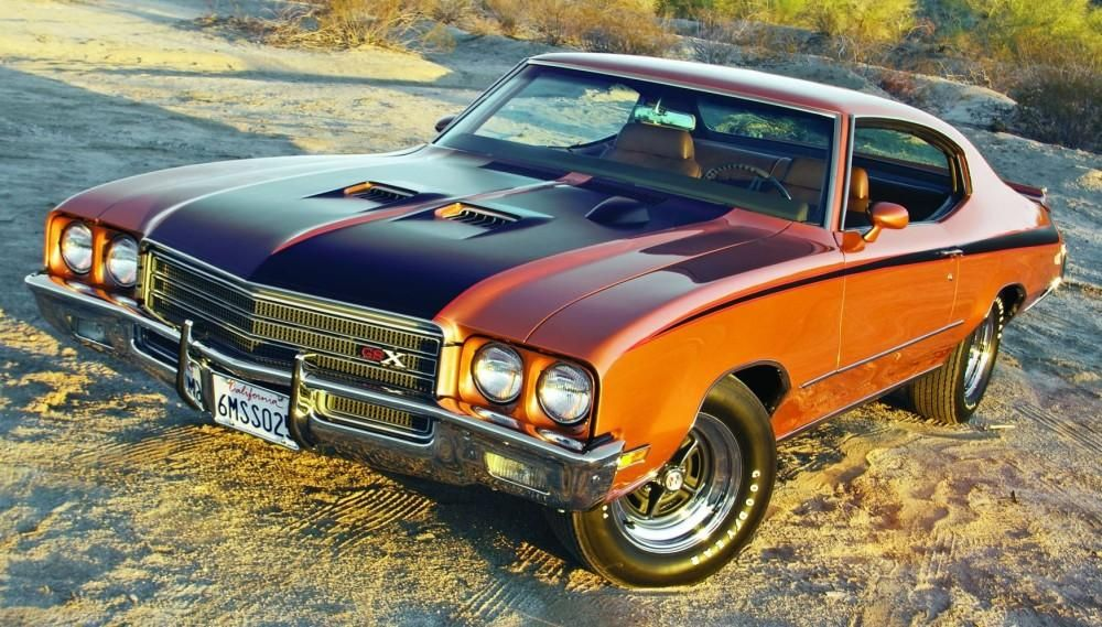 The Best Buick Muscle Cars At Http Www Musclecardefinition Com