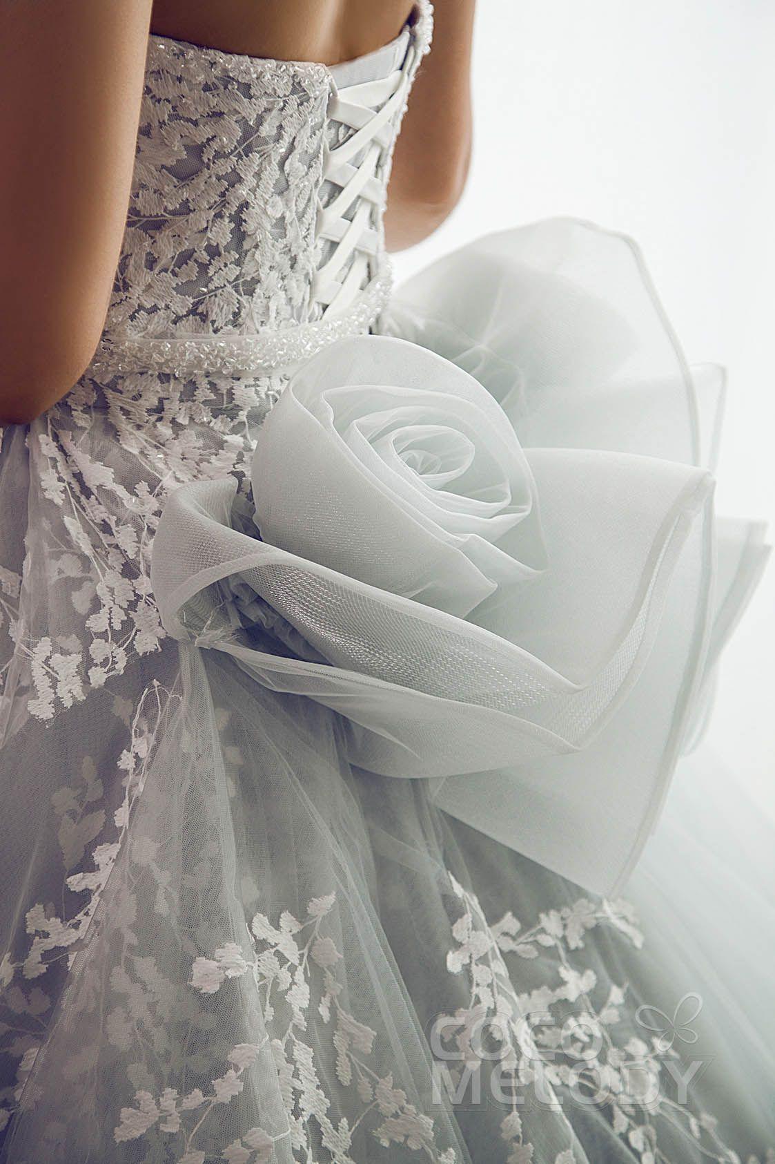 Usd 899 A Line Sweetheart Tulle Wedding Dress Beading Ld5054 Tulle Wedding Dress Wedding Dresses Beaded Wedding Dresses