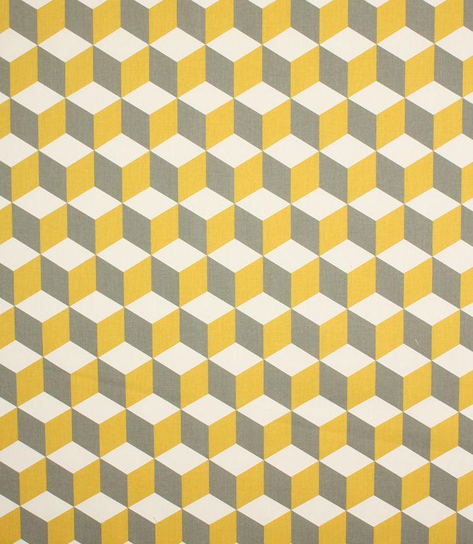Cube Fabric / Saffron
