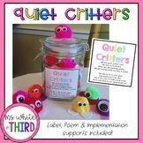 Quiet Critters- Poem, Label & Directions! #quietcritters Quiet Critters- Poem, Label & Directions! #quietcritters Quiet Critters- Poem, Label & Directions! #quietcritters Quiet Critters- Poem, Label & Directions! #quietcritters Quiet Critters- Poem, Label & Directions! #quietcritters Quiet Critters- Poem, Label & Directions! #quietcritters Quiet Critters- Poem, Label & Directions! #quietcritters Quiet Critters- Poem, Label & Directions! #quietcritters