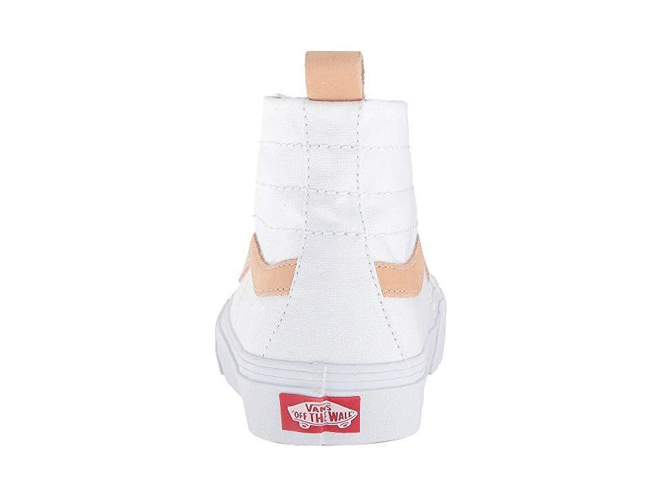 Vans SK8-Hi 138 Decon SF Skate Shoes (Leila Hurst) White Amberlight ... 1715cfbe9