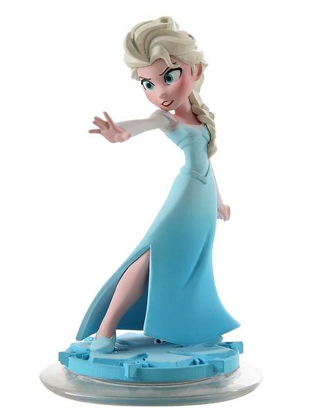 Frozen Infinity 2.0 Elsa -hahmo Brrr! Kun meno käy kuumaksi, viilenny Elsan kanssa. Hän pystyy jäädyttämään kenet tahansa. Konnien on paras panna jäitä hattuun! HUOM! Hahmo toimii Disney Infinity -Lelulaatikko pelikonsoleilla. Vaatii aloituspakkauksen, myydään erikseen.
