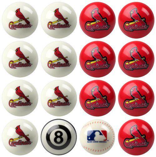 St. Louis Cardinals Billiard Balls