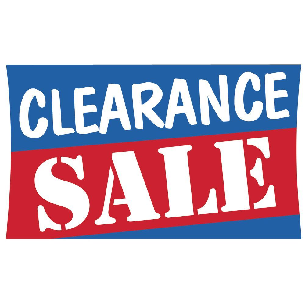 72 Sale Banner Sign Clearance Retail Signs