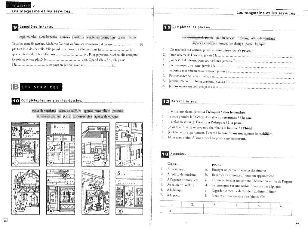 Exercices De Vocabulaire En Contexte Mis En Pratique Hachette