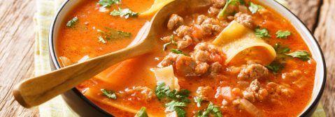 Lasagne-Suppe schnell, einfach und lecker! • Koch-Mit