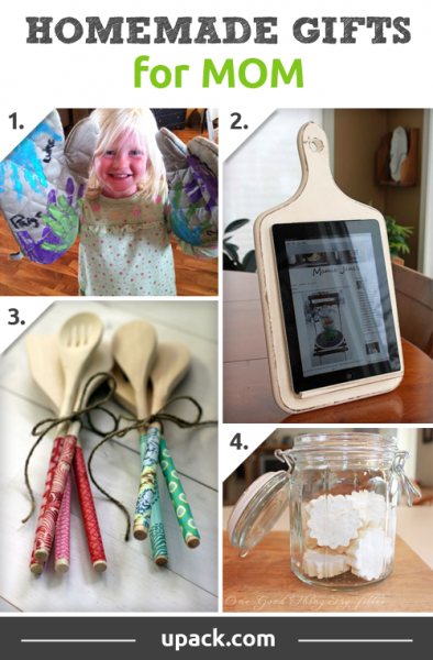 homemade christmas gift ideas make mom a present with