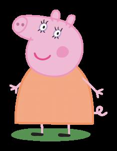 Zoom · Caixa Lembrancinha Peppa Pig - Mamãe Pig