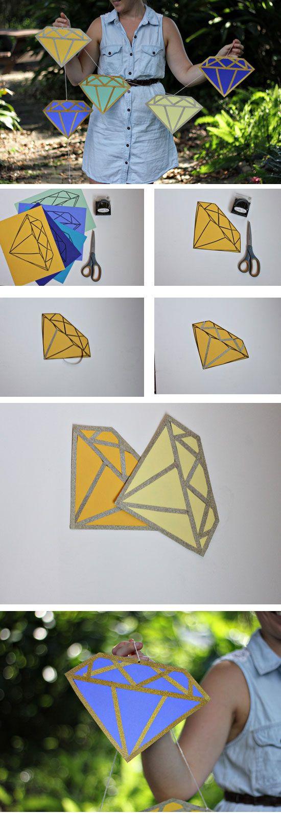 Diamond DIY Garland 20 Little Simple