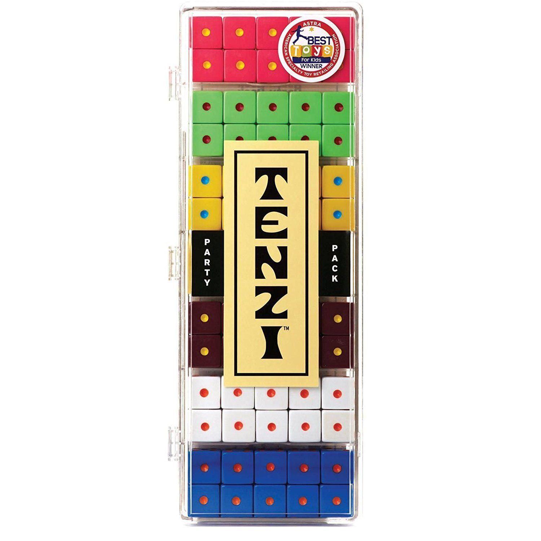 Tenzi logo using Square Circle Regular — https//www