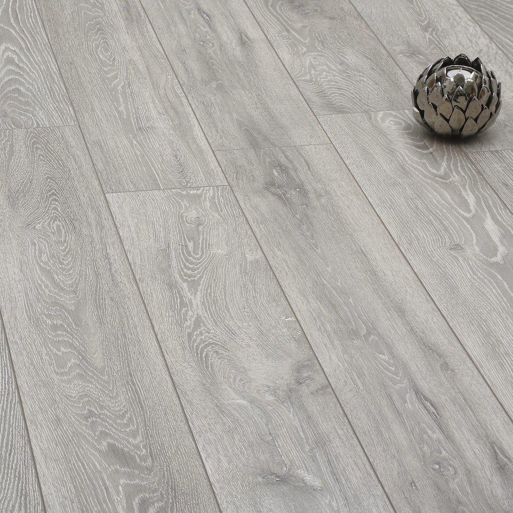 Laminat Grau Wohnzimmer: Laminat Boulder Oak Grey XXL Longplank 12mm