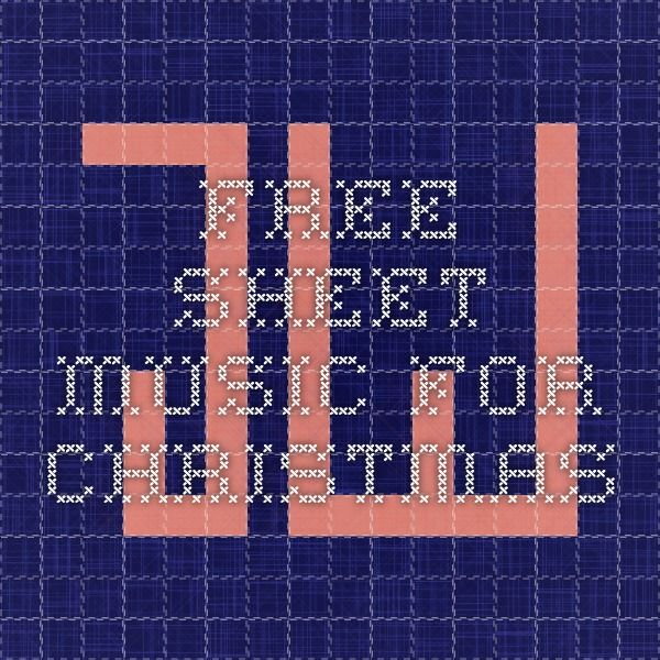 Free sheet music for christmas   Free sheet music, Jazz sheet music, Christmas duets
