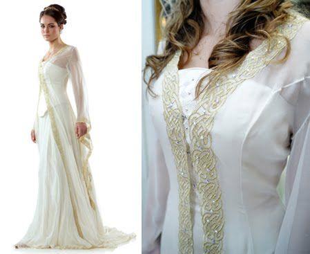 Gaelic Dresses,Celtic Wedding Dresses for Sale,