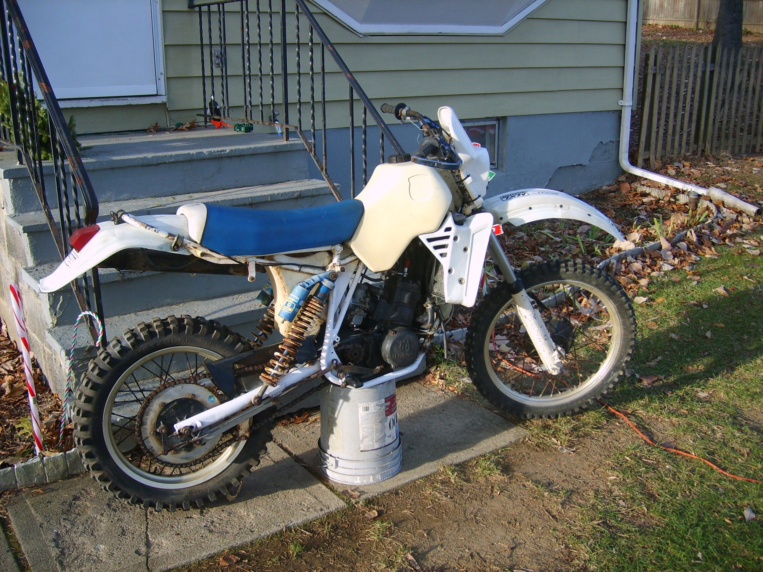 1985 Husqvarna 250WR, just bought it, pic #1
