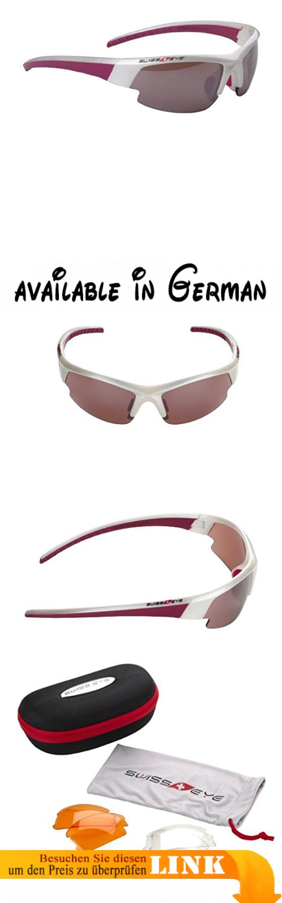 Swiss Eye Sportbrille Gardosa Evolution S, Pearl White/Purple, One Size, 12136