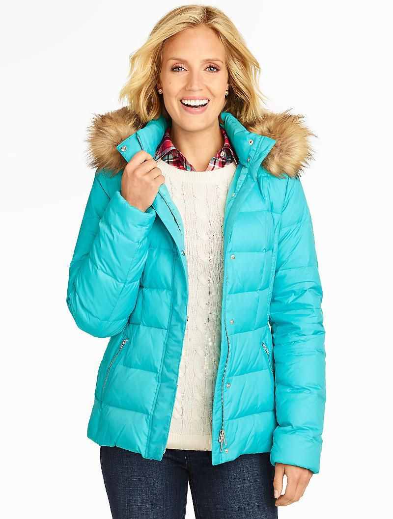 Solid Hooded Puffer Coat Coats And Outerwear Puffer Coat Clothes Clothes For Women [ 1057 x 800 Pixel ]