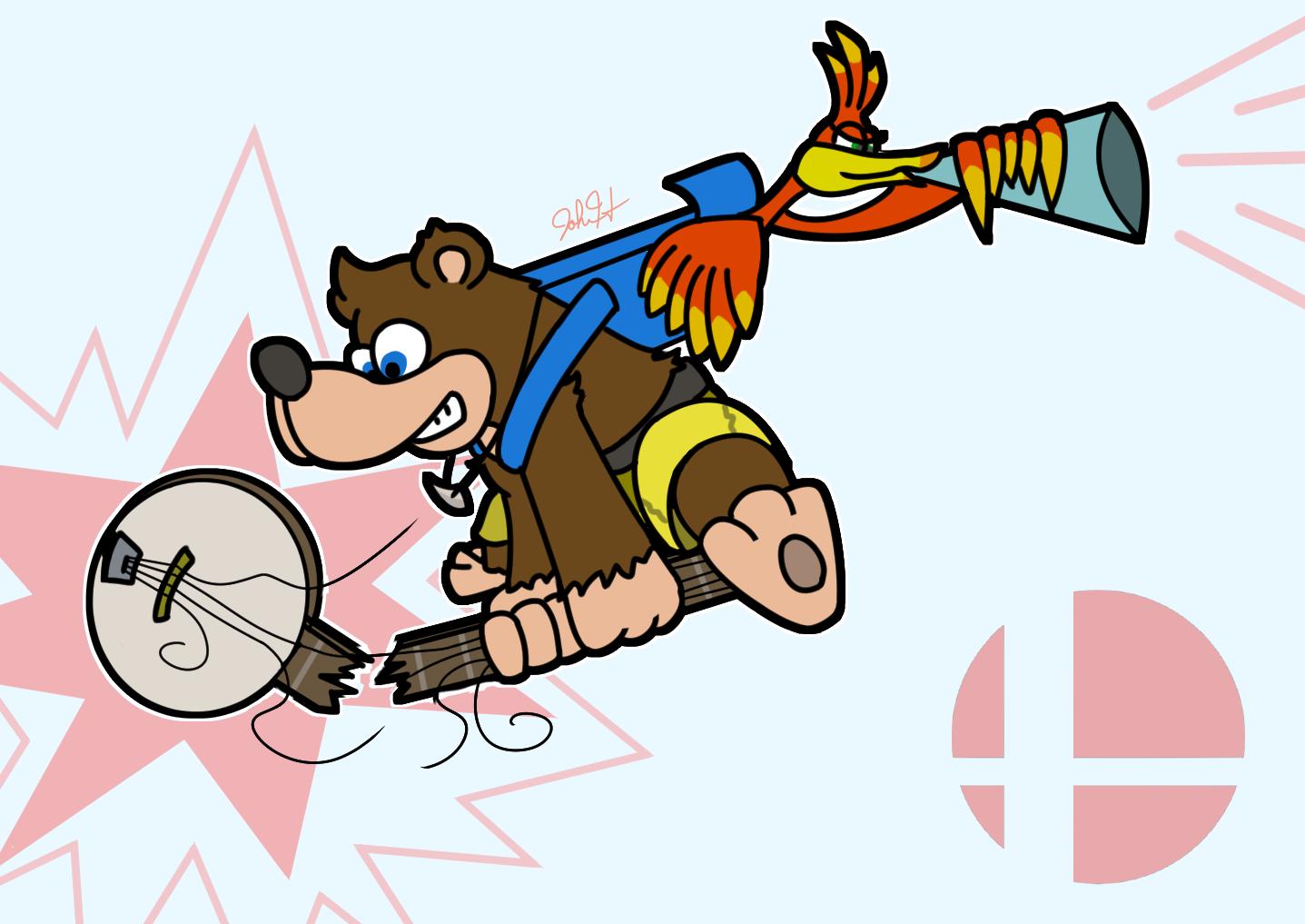Banjo Kazooie Battle Banjo Kazooie Banjo Super Smash Bros