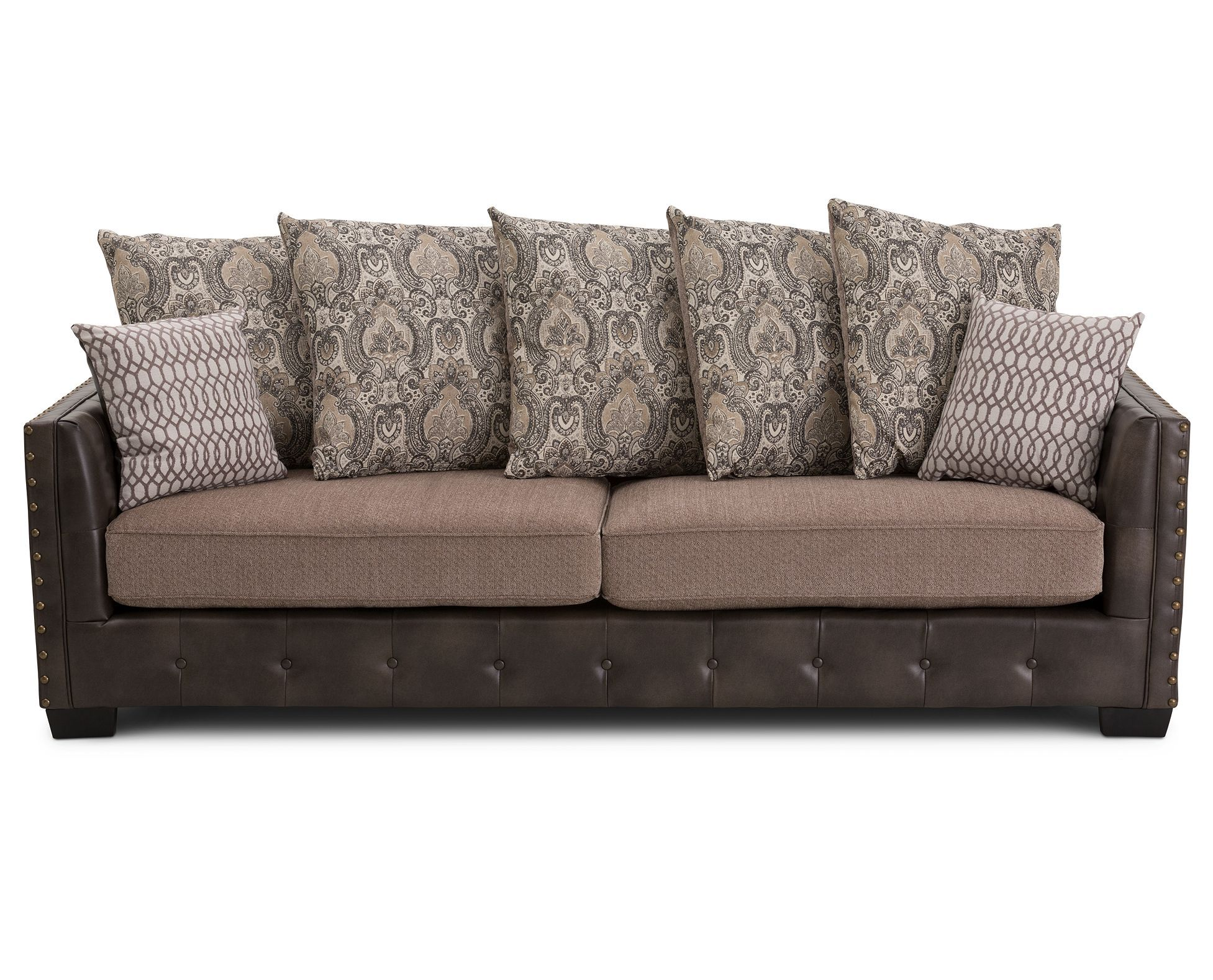 Best The Arlington Heights Sofa Features Button Tufting Chic 400 x 300