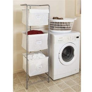 Vertical Laundry Sorter Great When You Have A Small Laundry