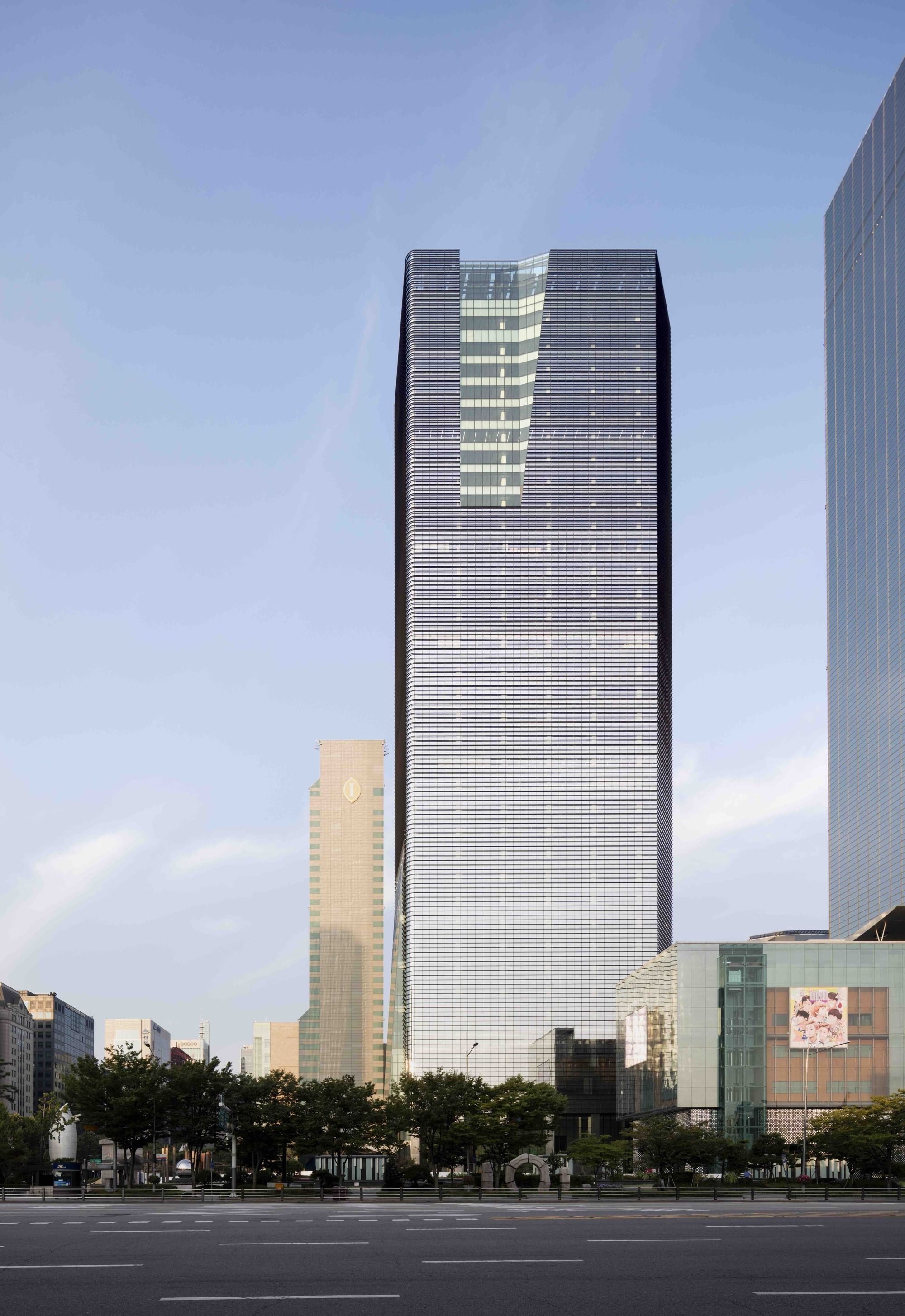 Parnas Tower Chang Jo Architects Facade Architecture Skyscraper Architecture Architect