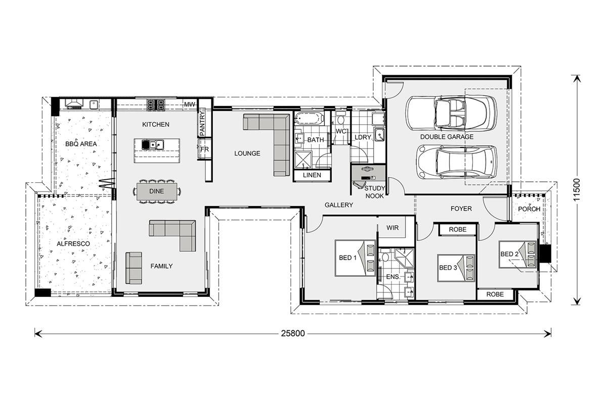 Stillwater 264 element our designs cairns builder gj for House plans cairns