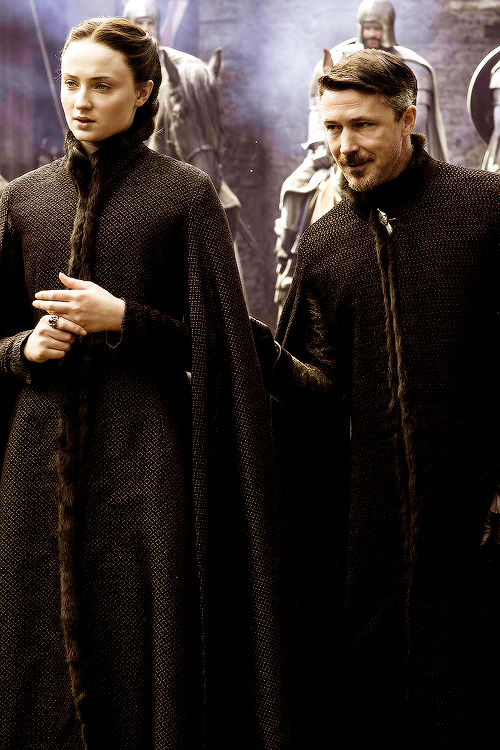Petyr Baelish and Sans...