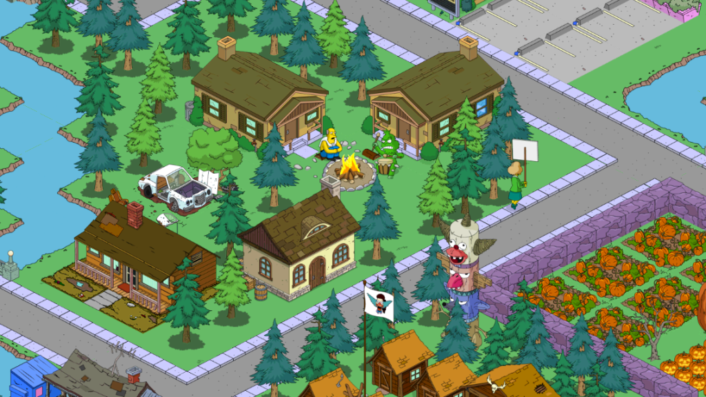 casa - kamp krusty - laboratorio di giuseppe