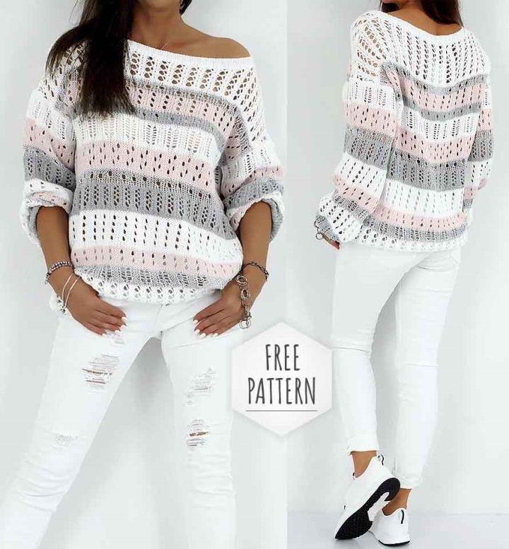 Crochet Blouse Free Pattern #crochet #patterns #projects #clothes #free #blanket #diy #bikini