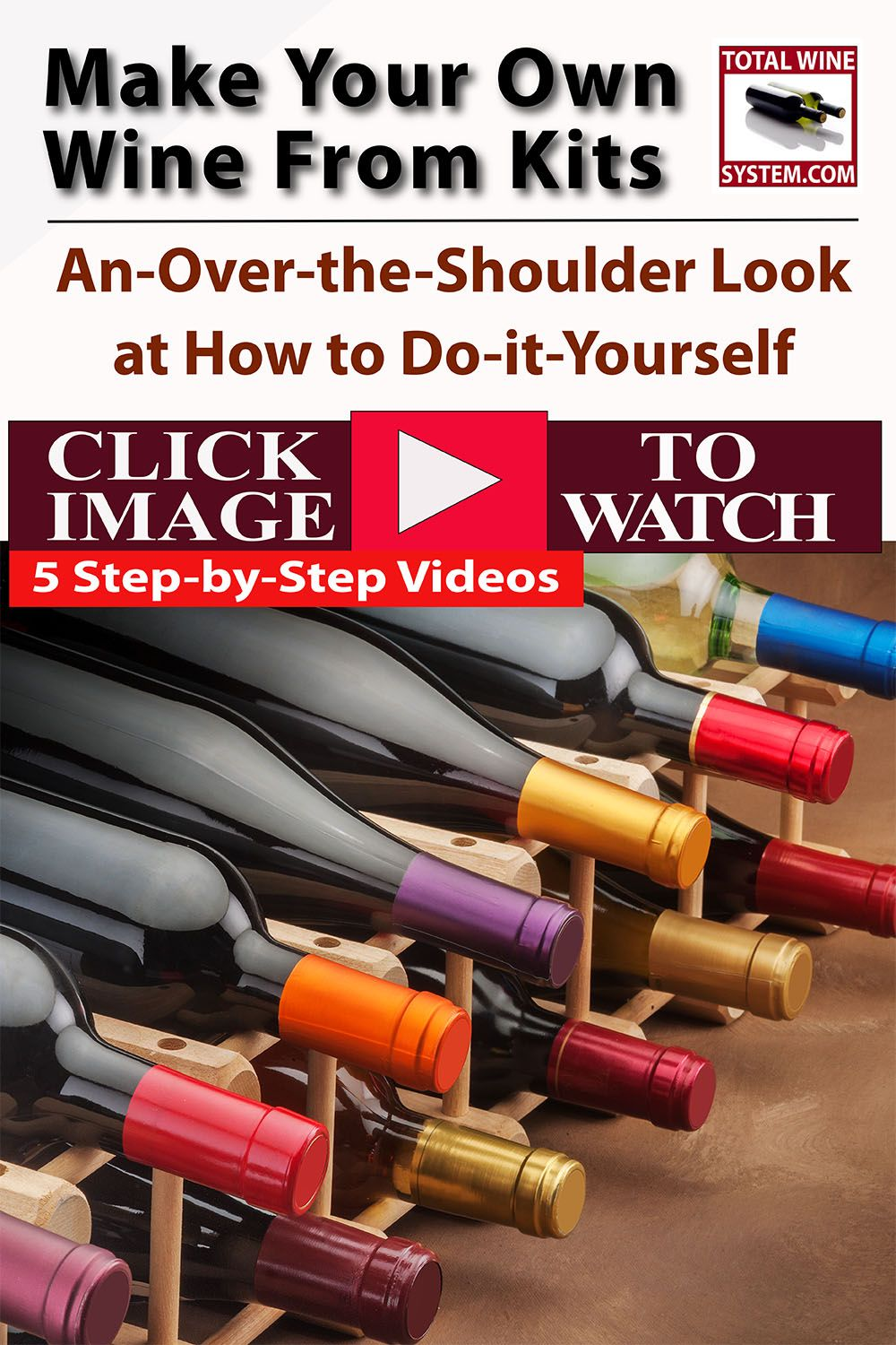 Kit Winemaking The Total Wine System Wine Kits Make Your Own Wine Homemade Wine Making