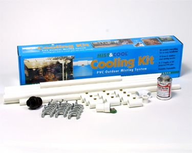 Big Fogg Misting Systemu0027s PVC Misting System Consists Of A High Quality And  Low Cost ½