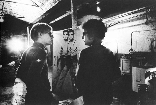 Andy Warhol, Bob Dylan, Screen print of Elvis Presley