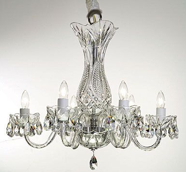 Waterford Crystal Bluebell 6 Arm Crystal Chandelier Crystal