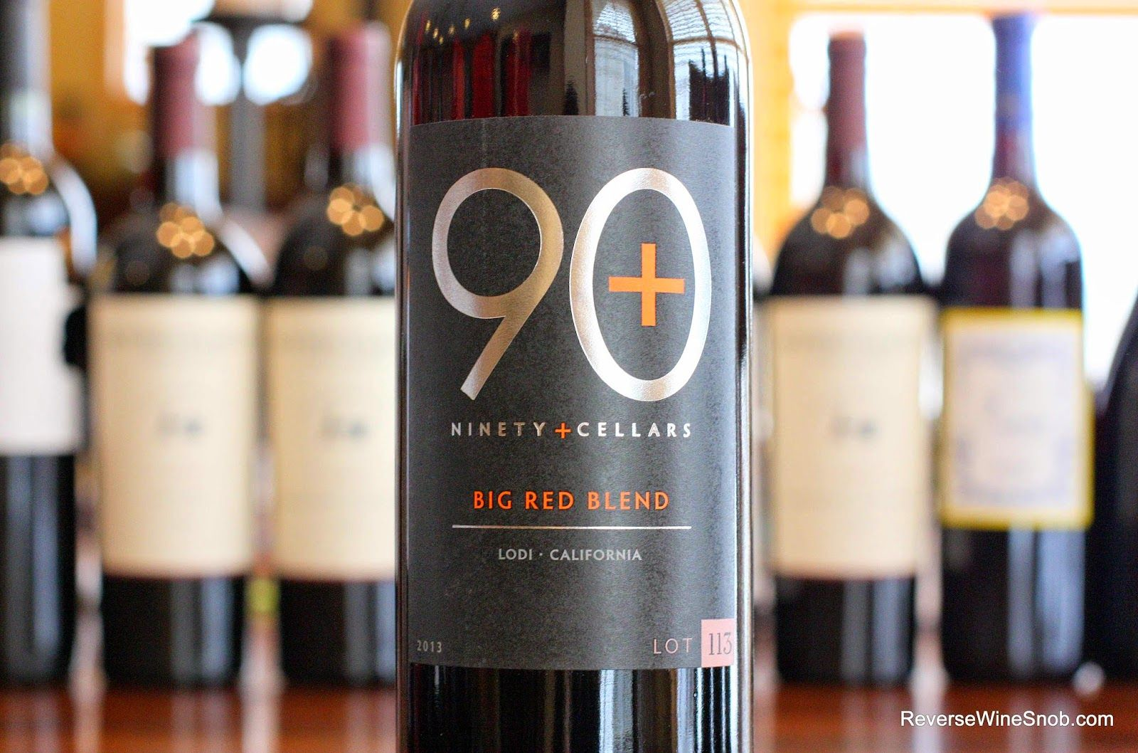 90 plus cellars lot 113 big red blend firstrate wine