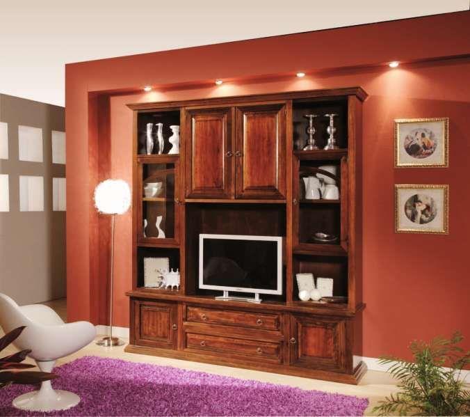 Parete Classic 424/F Classico - soggiorno   Soggiorno ...