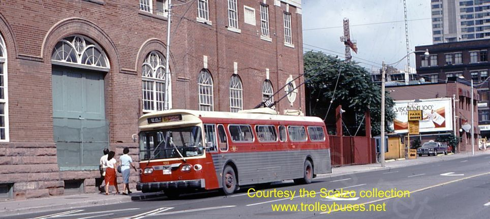 Flyer 9213 northbound on Bay at Hagerman on August 6 1982