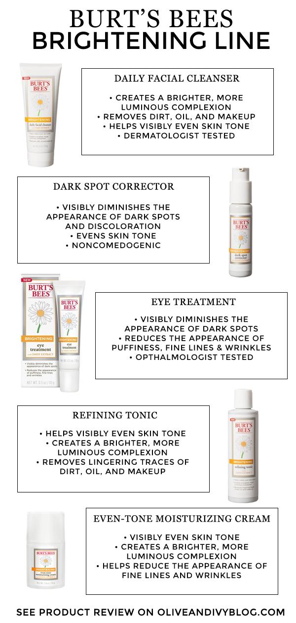 Bright And Beautiful Skin With Burt S Bees Brightening Line Burts Bees Skin Care Skin Makeup