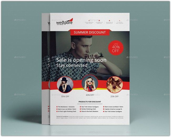 25 Coupon Flyer Templates To Attract More Clients Template
