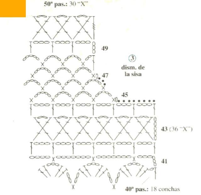 Patrones Crochet | #crochet 38 | Pinterest | Ganchillo, Croché and ...