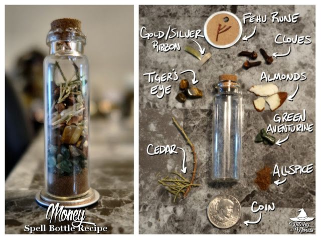 How to Create a Small Spell Bottle