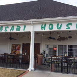 Wasabi House - Chablee. Brown rice, bimbimbop and patio (beer+wine only)