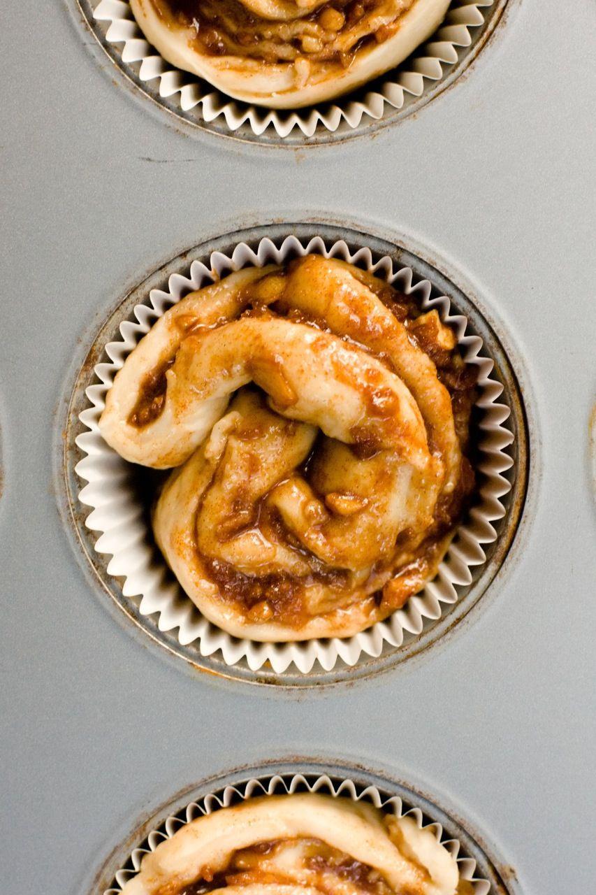 Paula Deen Apple Cinnamon Roll Cupcakes — PaulaDeen.com