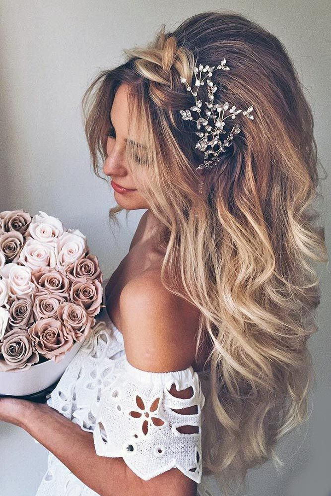 18 Modish Ombre Wedding Hairstyles ❤️ See more: #weddings #hairstyles
