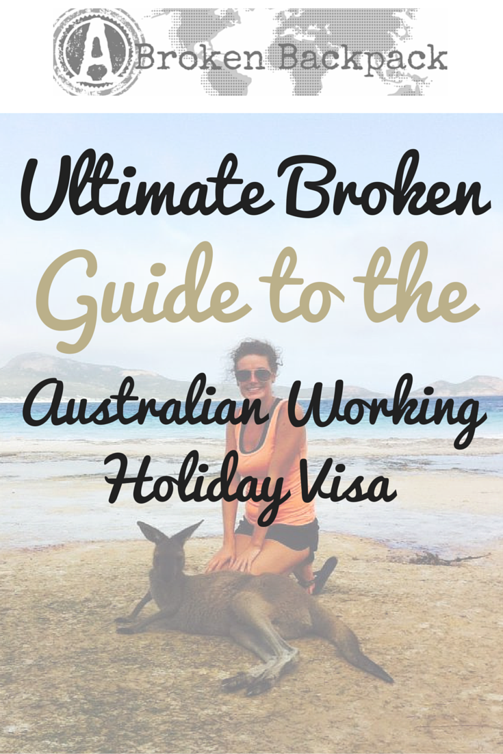 how to cancel australian working holiday visa