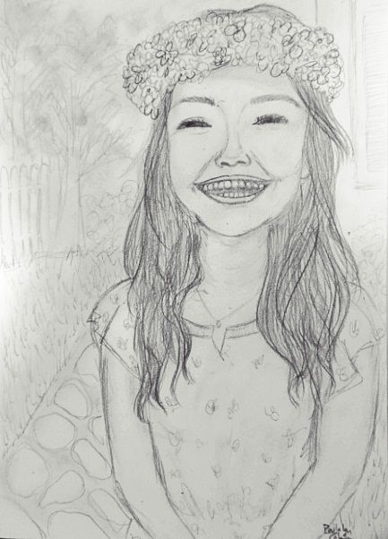 Oh Happy Days Girl Smiling Sorriso Menina Tumblr Desenho