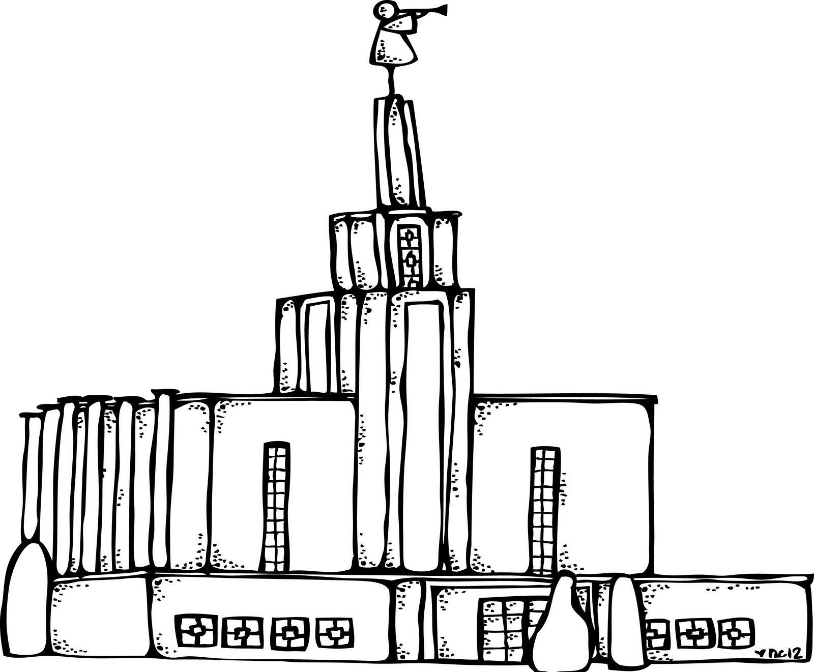 Melonheadz LDS illustrating: temple | Church | Pinterest